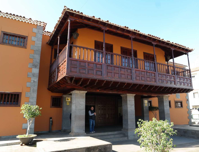 El ayuntamiento de Tegueste