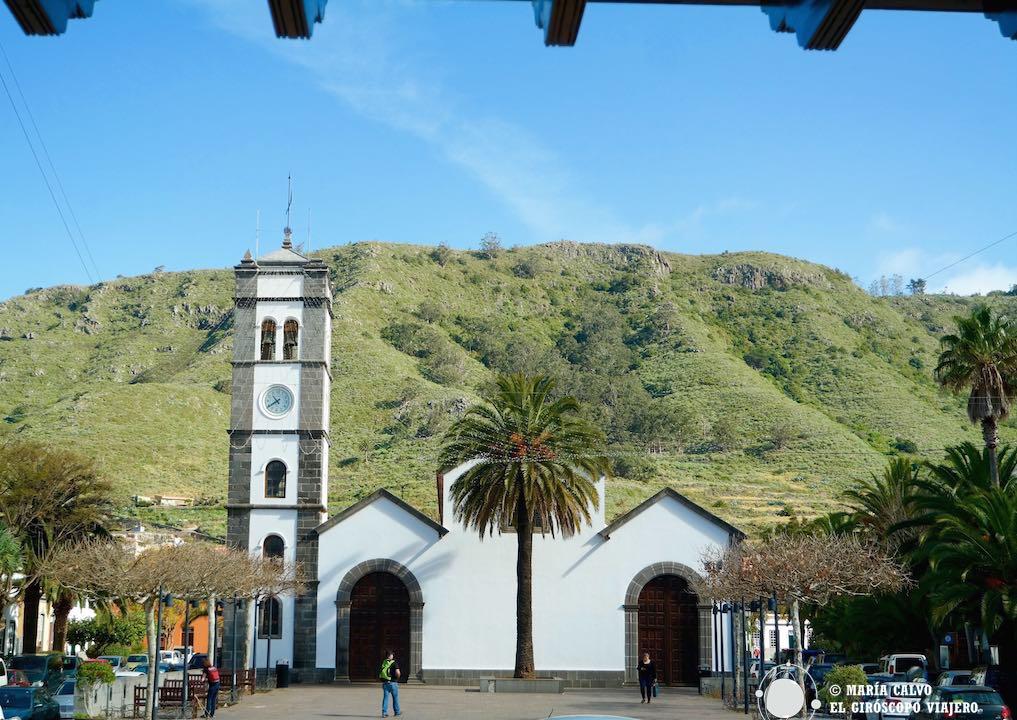 La iglesia de San Marcos evangelista, en pleno centro de Tegueste