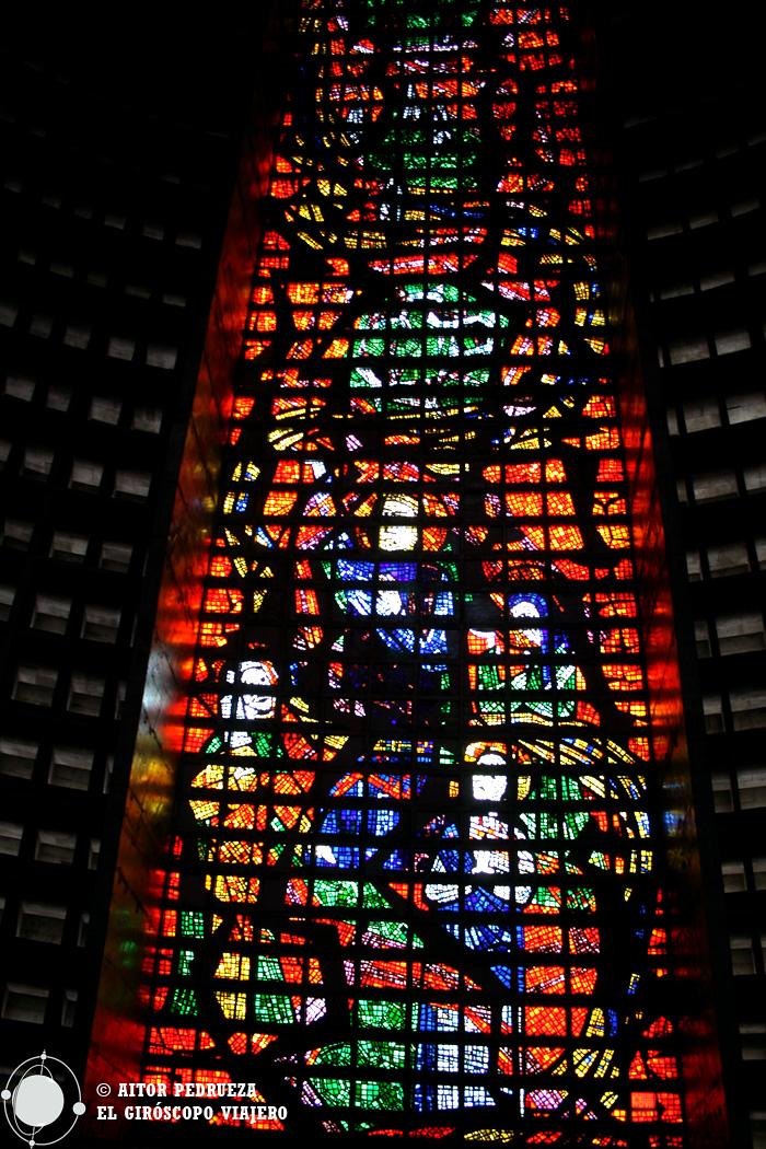 Vidrieras del interior de la Catedral Metropolitana