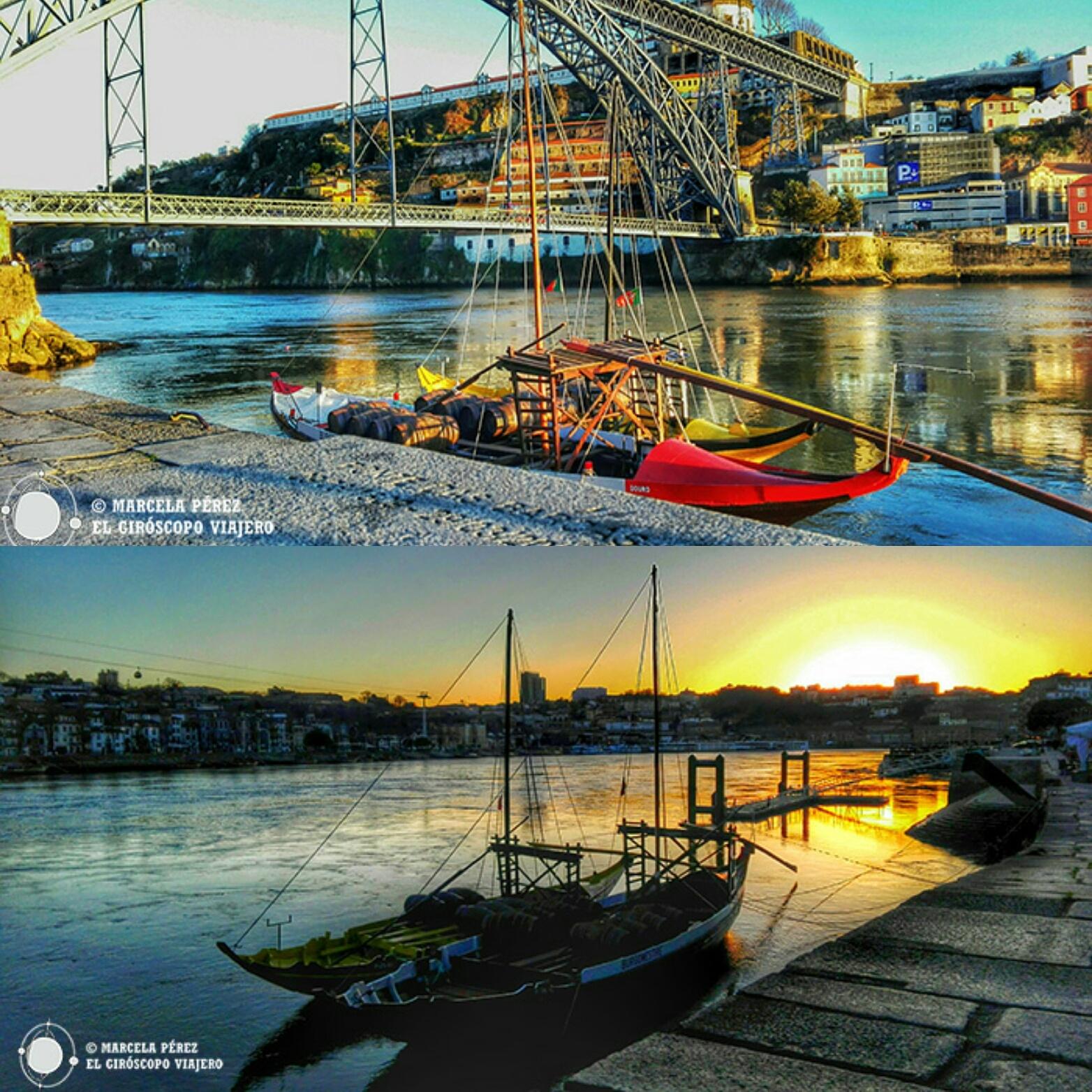 Los contraste de Oporto entre sombras y luz, maravillan