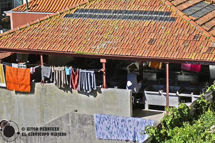 Lavaderos públicos como parte del folclore de Oporto