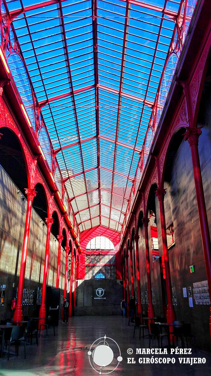 La estructura interior del Mercados Borges Ferreira