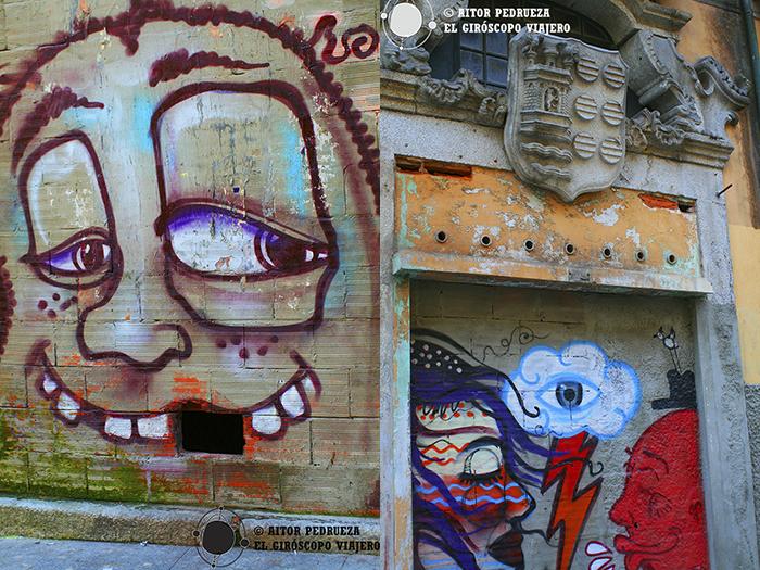 El rescate de edificio abandonados a través del arte es un toque que fascina en Oporto