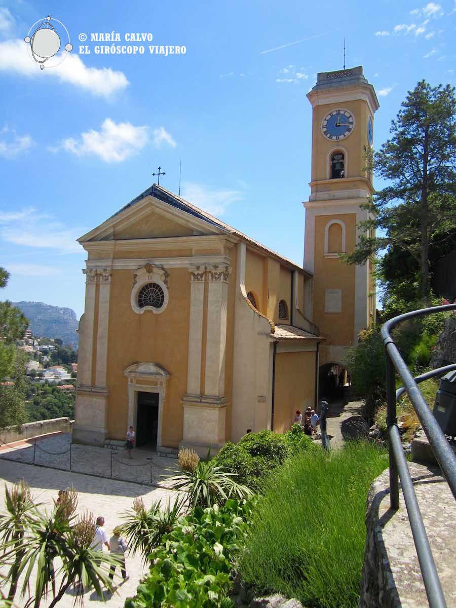 La capilla del pueblo de Eze