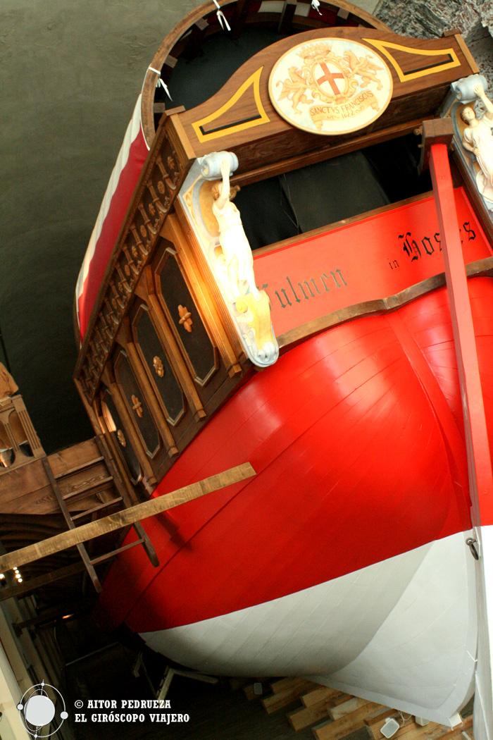 Galeón en el Museo del Mar Galata