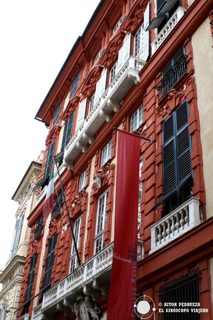 Palazzo Rosso, uno de los Rolli de Genova