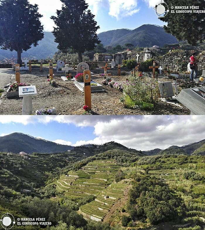 Espectaculares vistas desde el cementerio