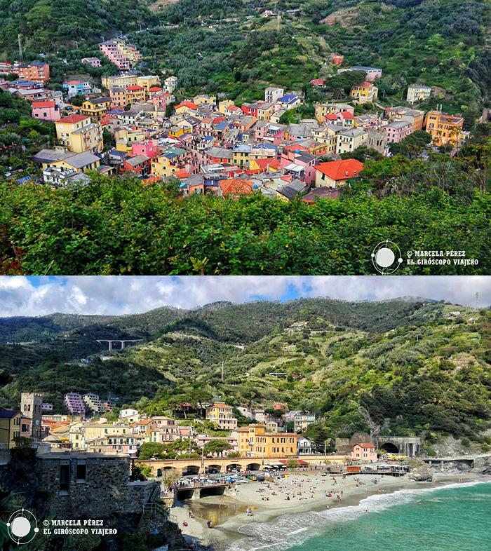 Monterosso y la belleza de sus paisajes