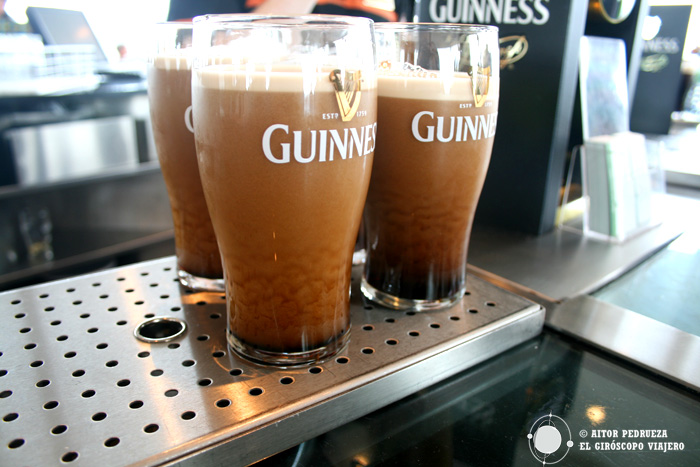 Visita a la fábrica de cerveza Guiness en Dublín