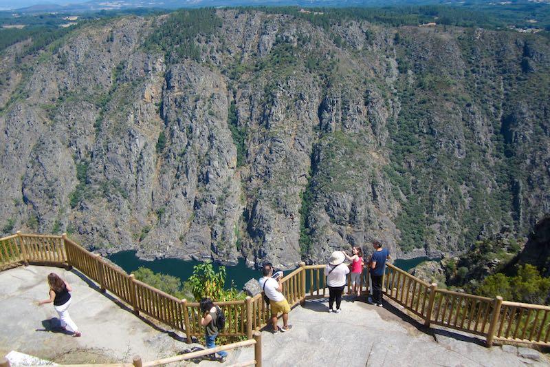 Los cañones del Sil, en Galicia: espectaculares