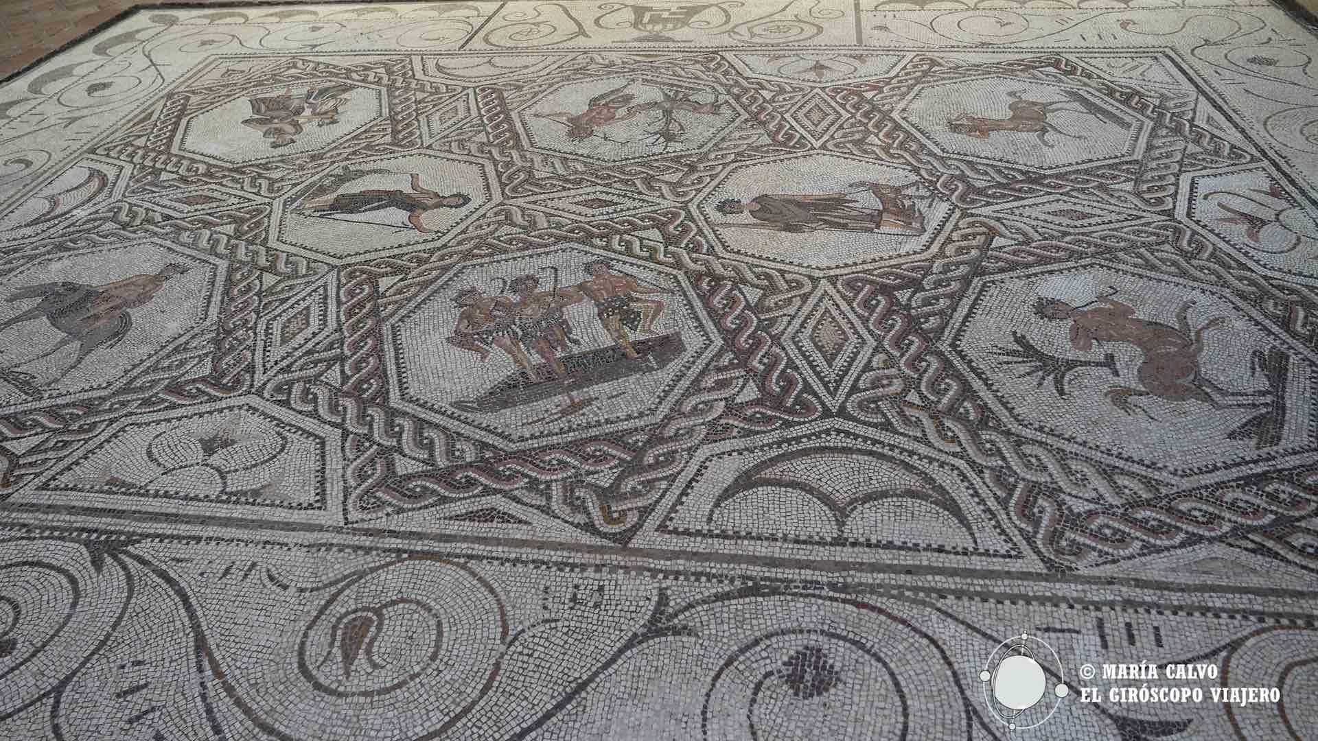 Mosaico romano de la Casa Salinas