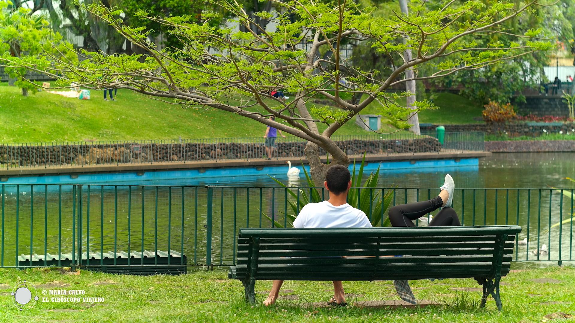 Amor en el Parque de Santa Catarina