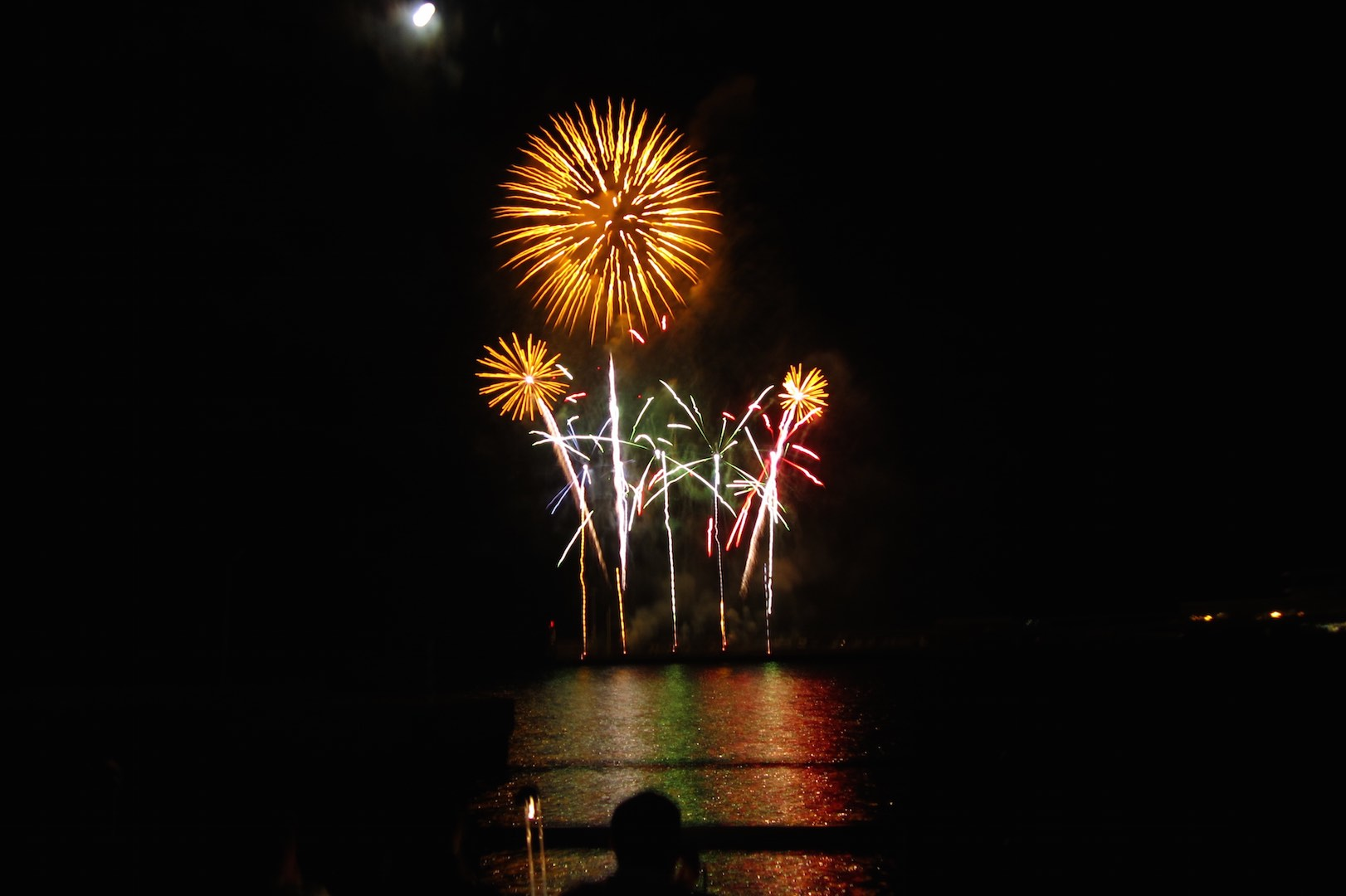 El Festival del Atlántico, espectáculo musical de fuegos artificiales en la bahía de Funchal
