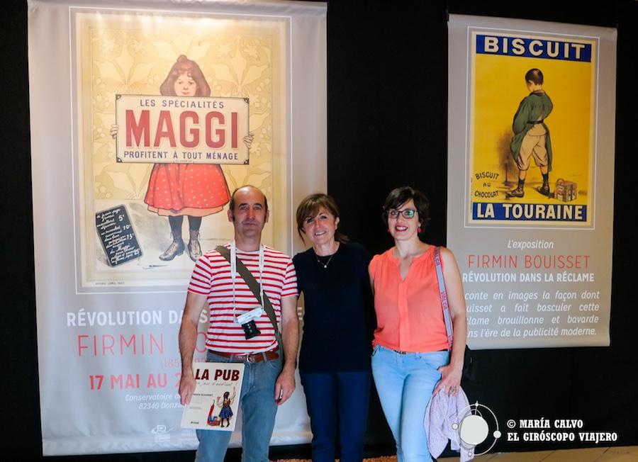 Exposición sobre el publicista Firmin Bouisset con la periodista Annie Elkaïm.
