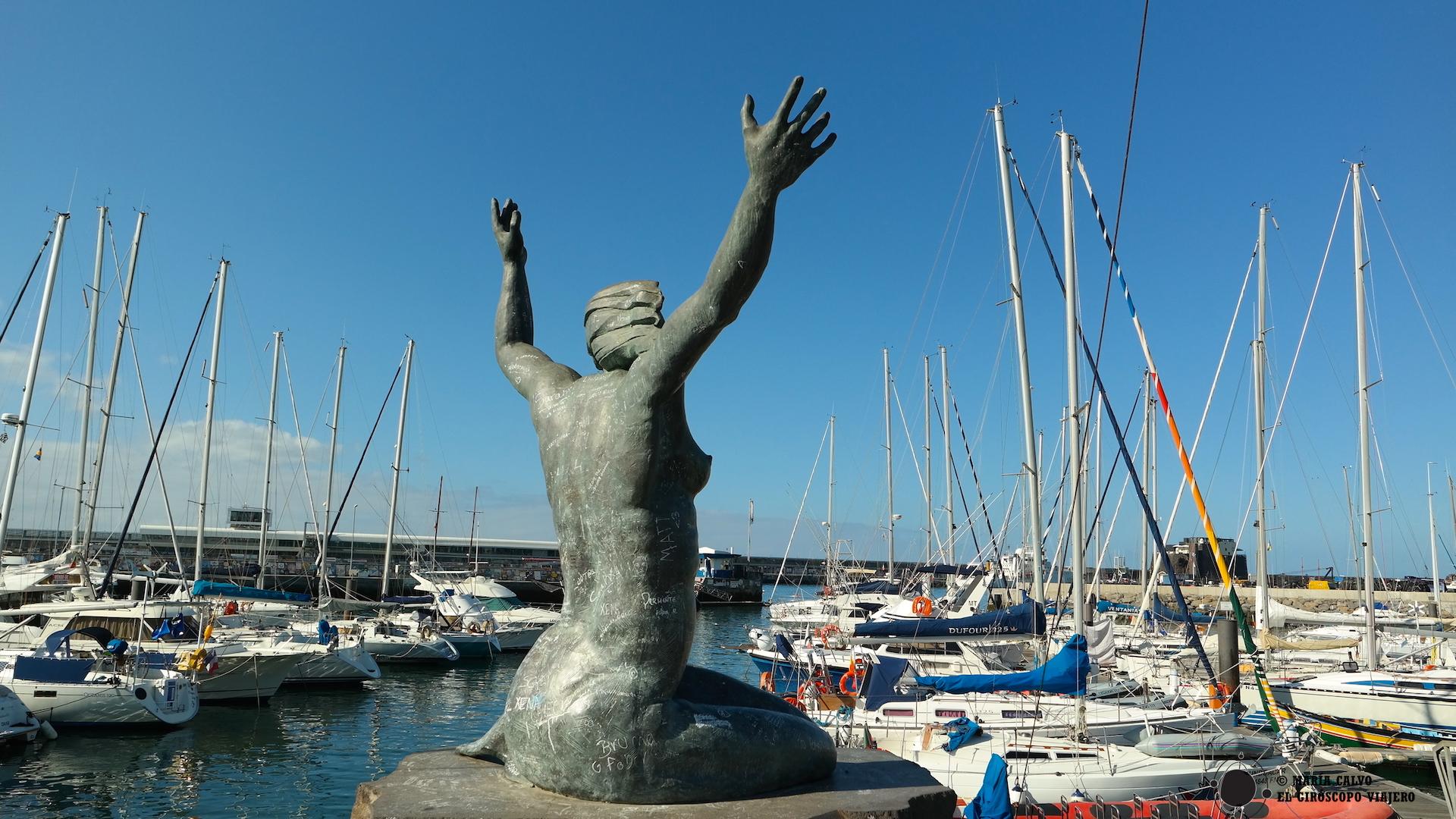 Puerto de Funchal, de ahí parten los catamaranes para avistar delfines y ballenas