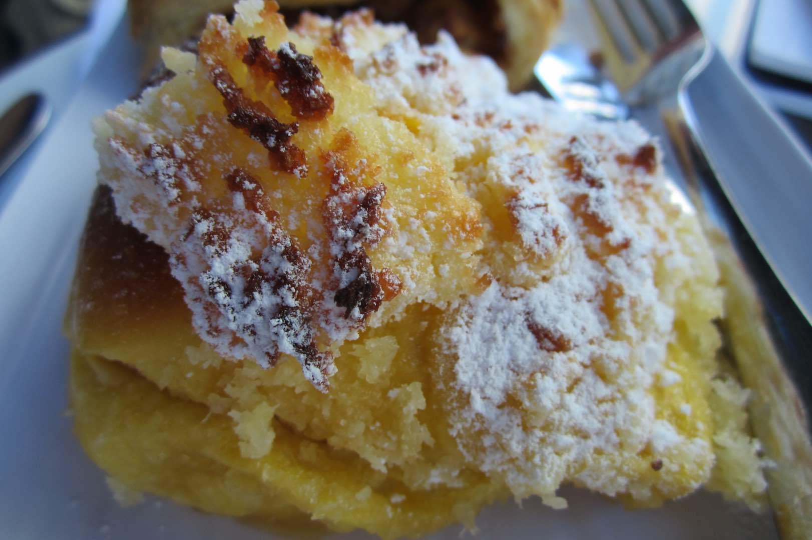 El delicioso Pão de Deus, típico de Madeira