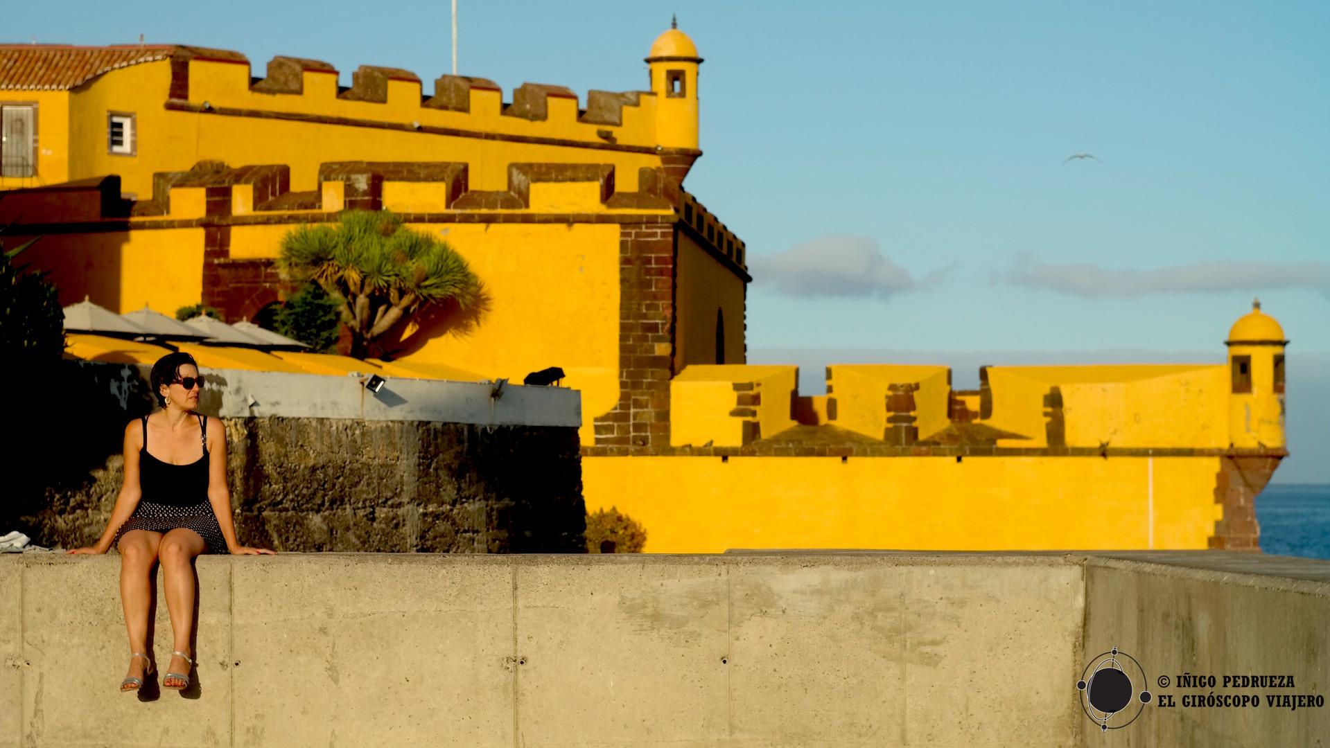 La Fortaleza de San Lorenzo, los amarillos dominan en Funchal