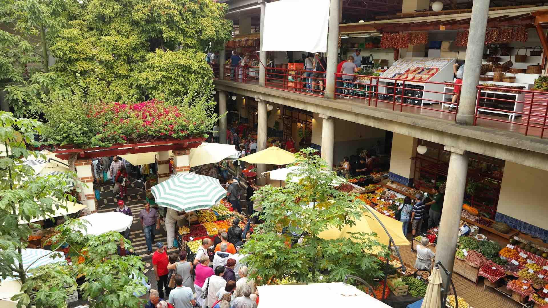 El Mercado dos Lavradores, el más célebre de Funchal