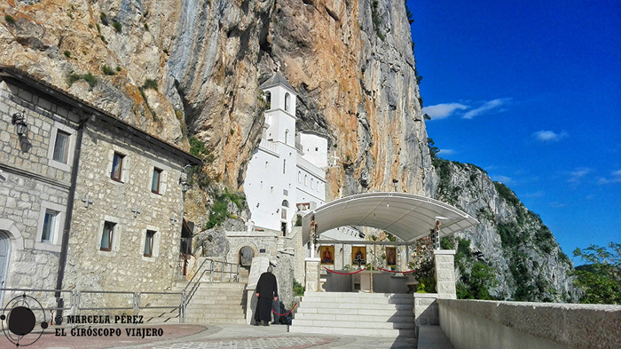 El fascinante monasterio de Ostrog