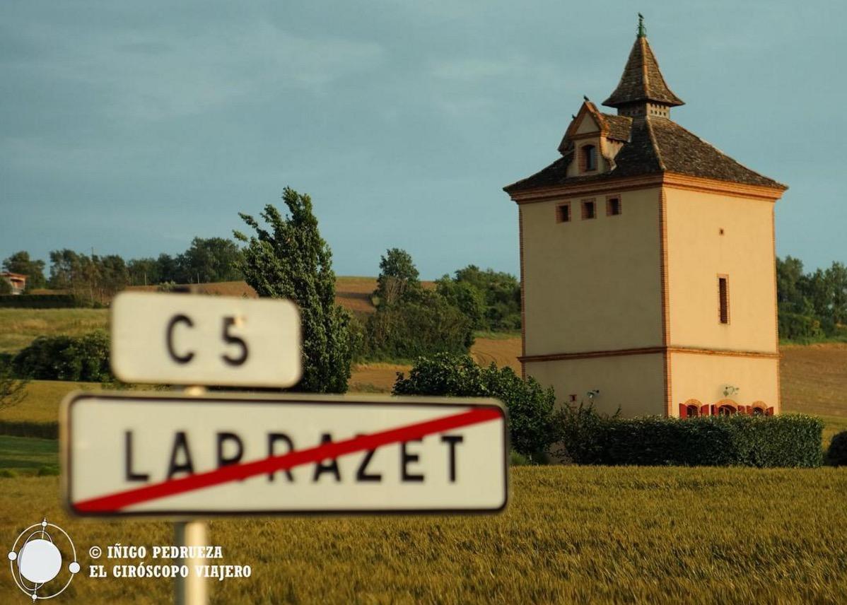 Pigeonnier de Larrazet que fue nuestro hogar durante el viaje. Gracias a ©Iñigo Pedrueza.