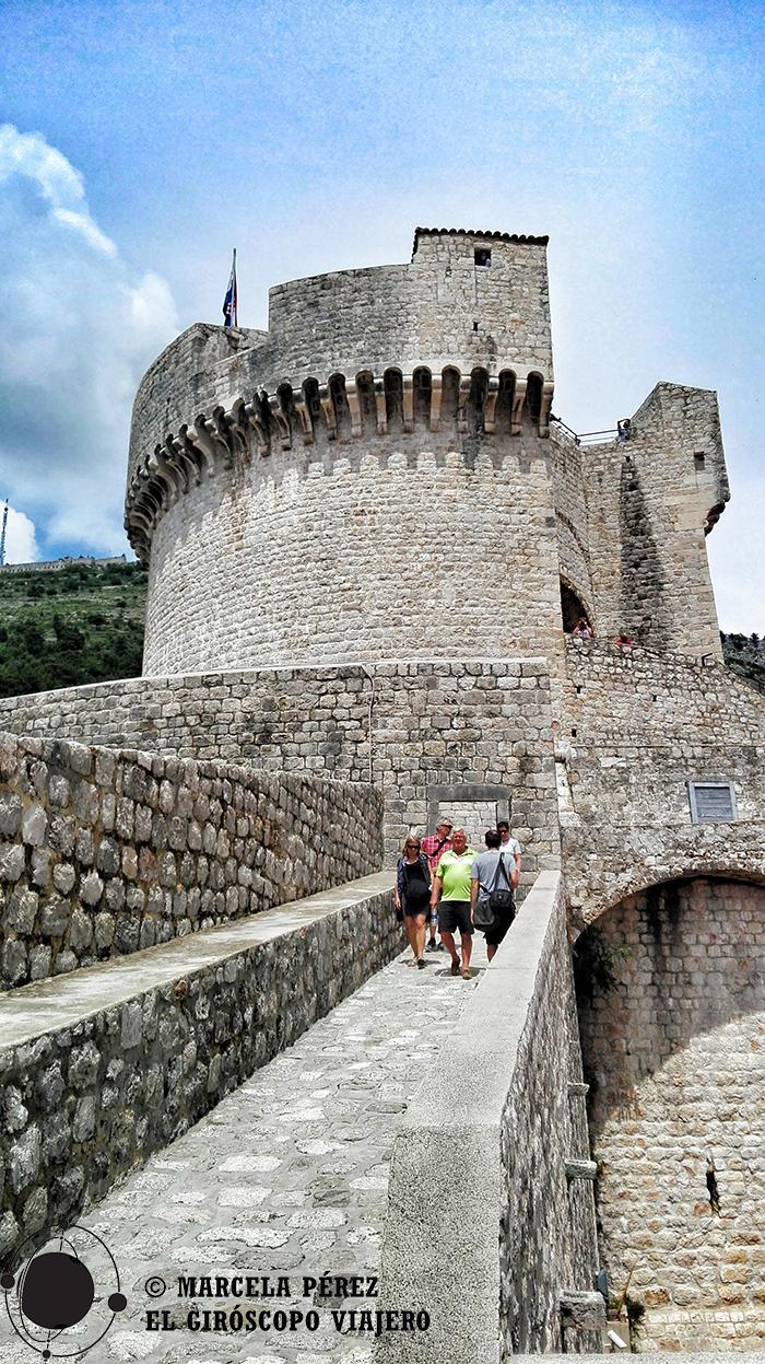 La imponente Torre Minceta