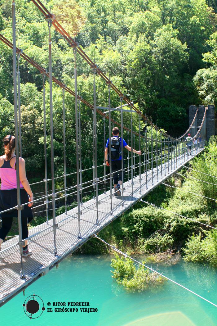 Puente colgante del Barranco de Sant Jaume