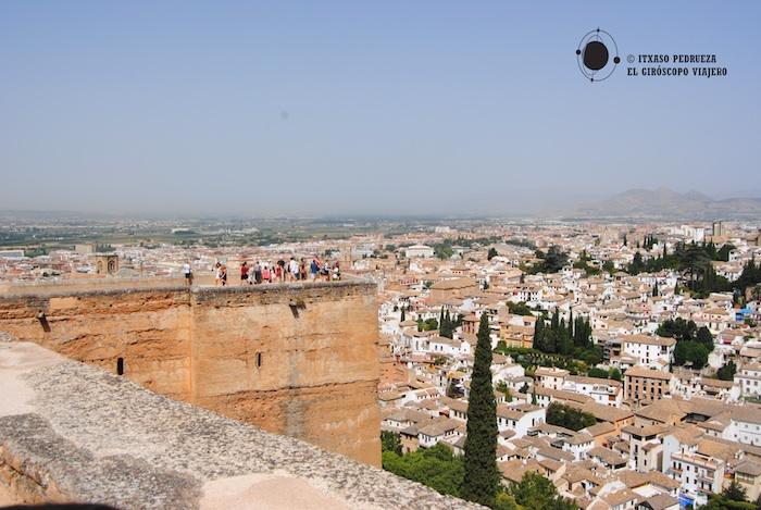vistas alcazaba