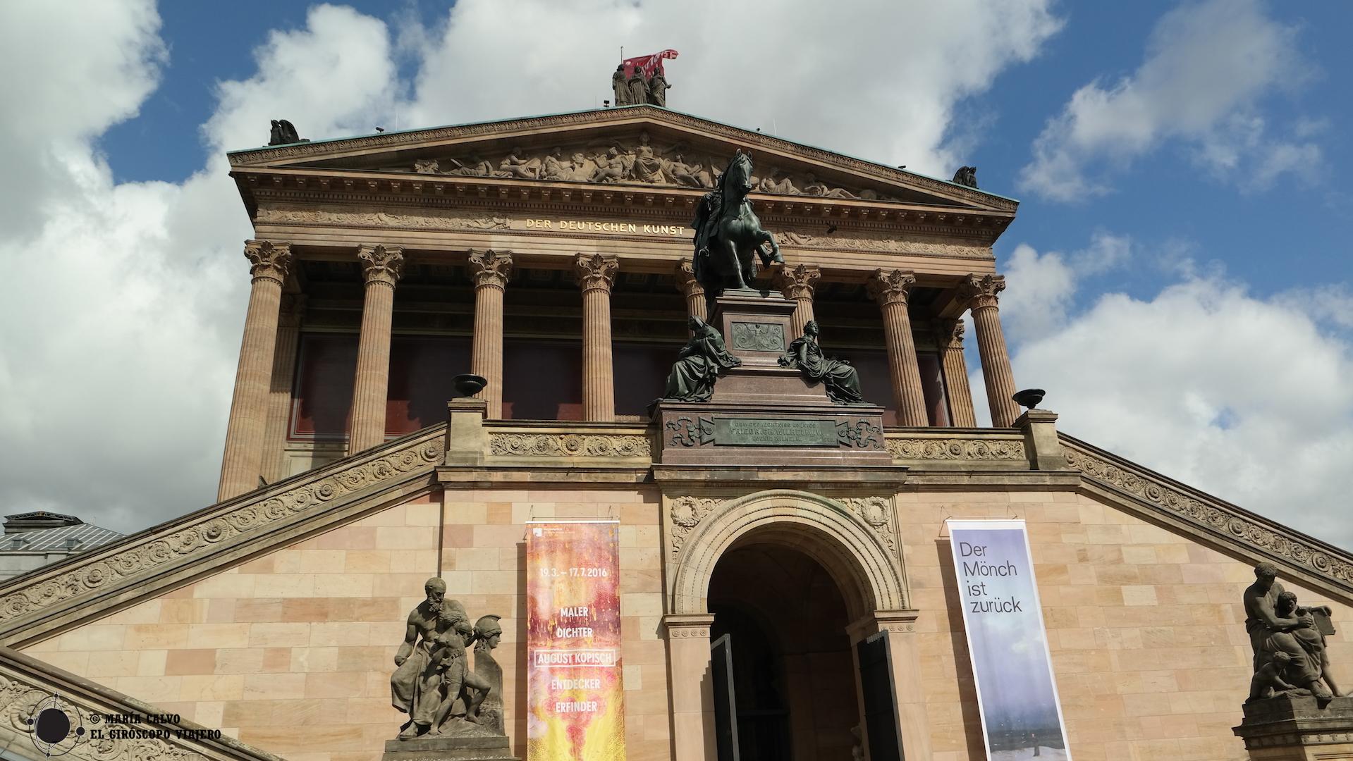 La Galería Nacional Antigua (Alte Nationalgalerie)