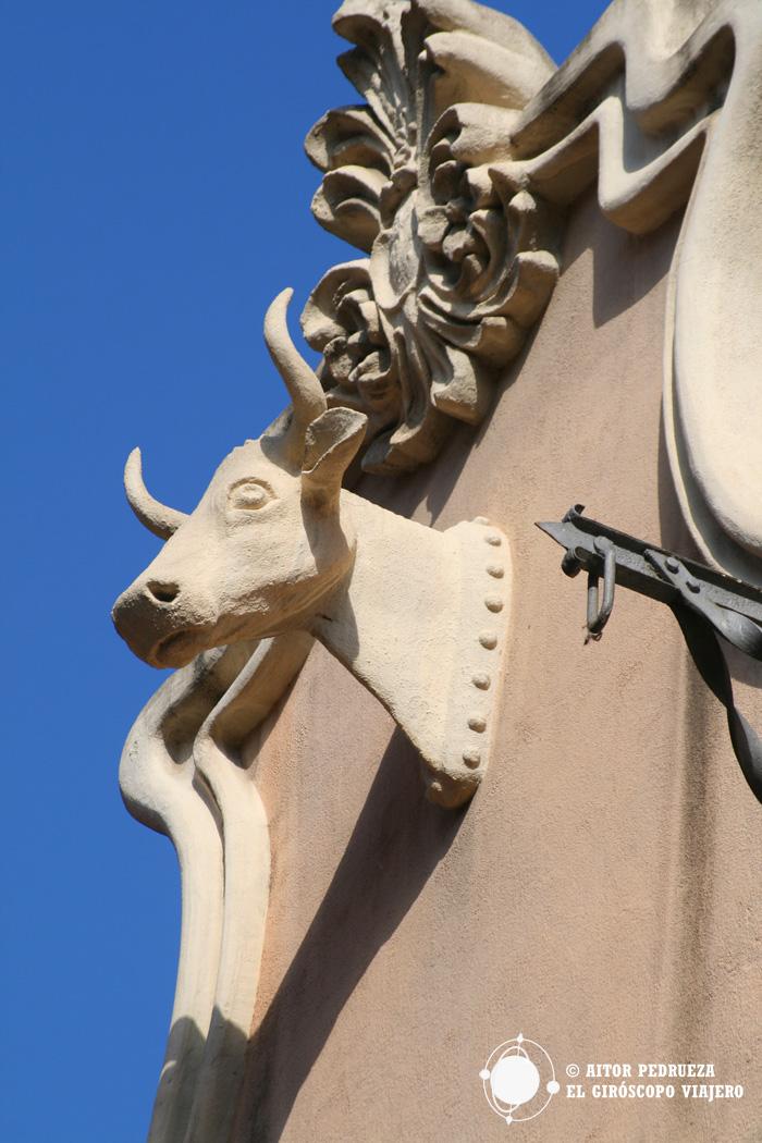 La cabeza de vaca de Clot