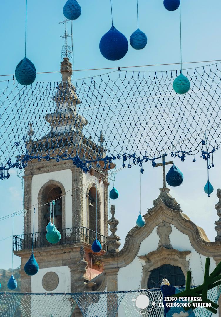 La Iglesia de Vilanova de Cerveira a través del croché