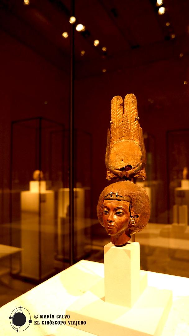 En el Neues Museum, la colección del antiguo egipto