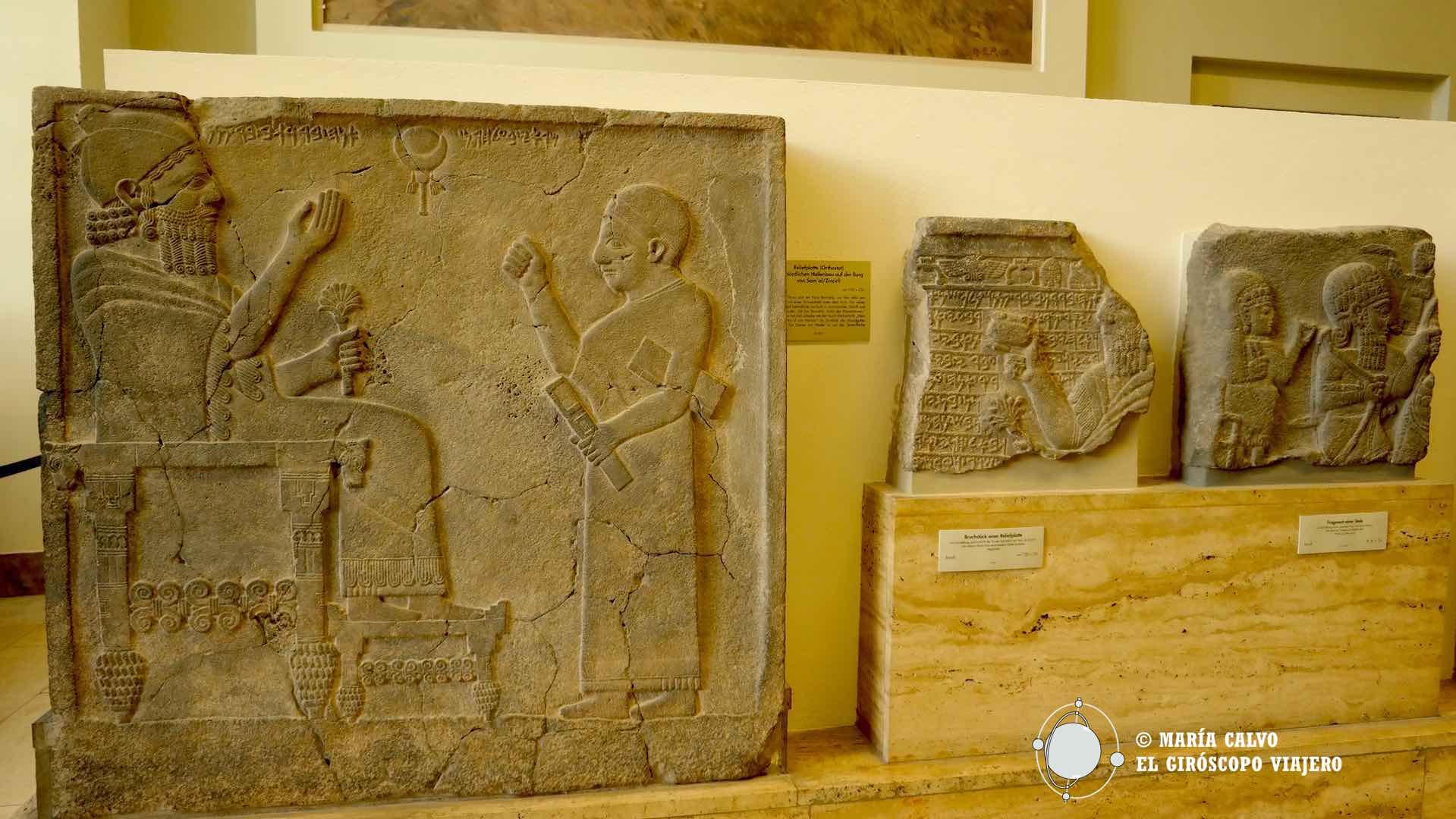 Estelas mesopotámicas en el Pergamonmuseum, Berlín