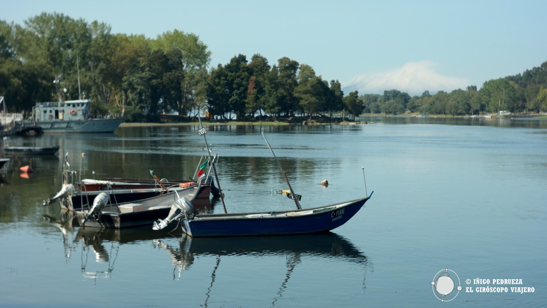 El río Miño mira a Portugal y a España