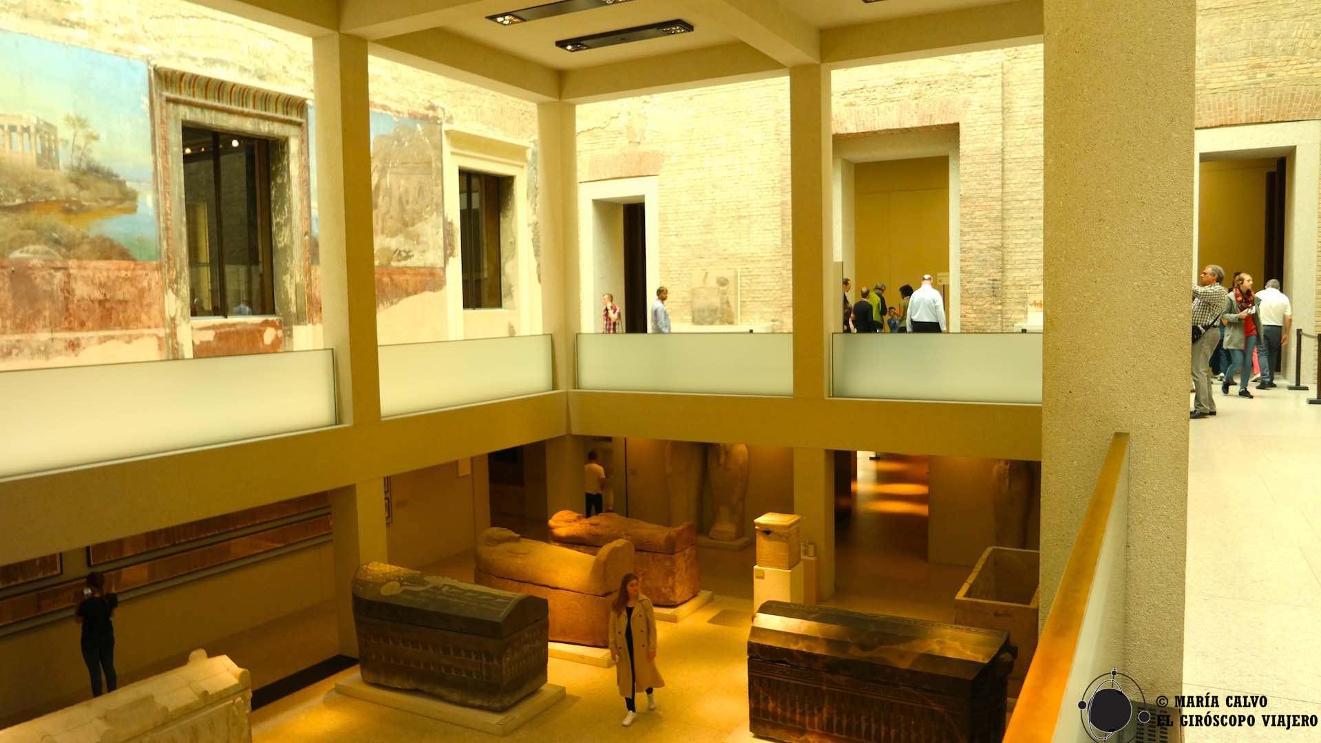 En la arquitectura del Neues Museum la fusión pasado y presente roza la perfección