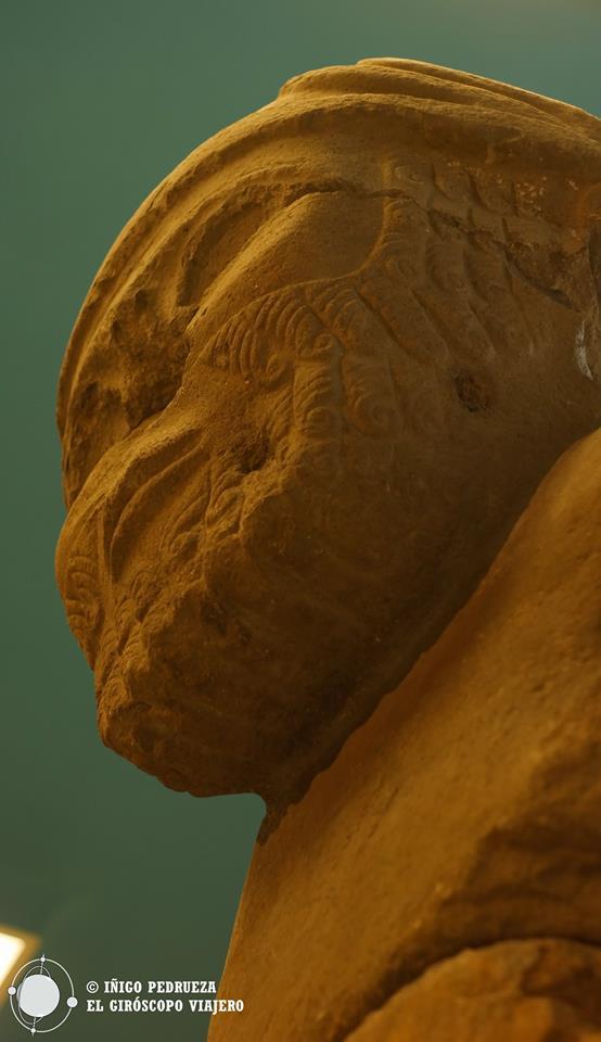 En la sala de la antigua Mesopotamia