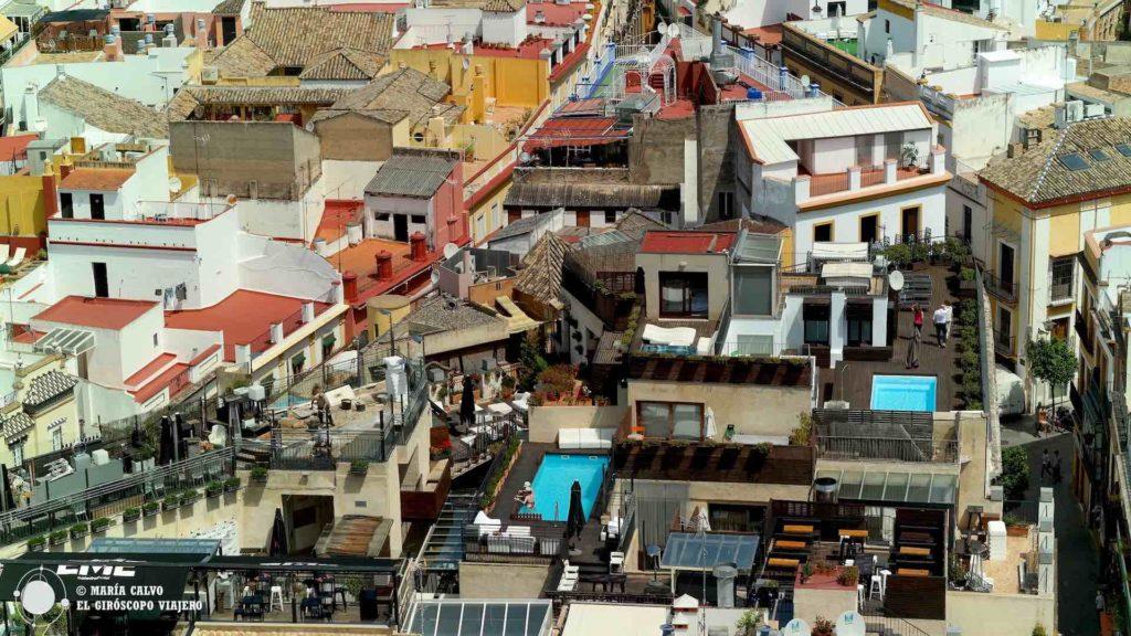 La vida en los tejados de Sevilla, en 3D