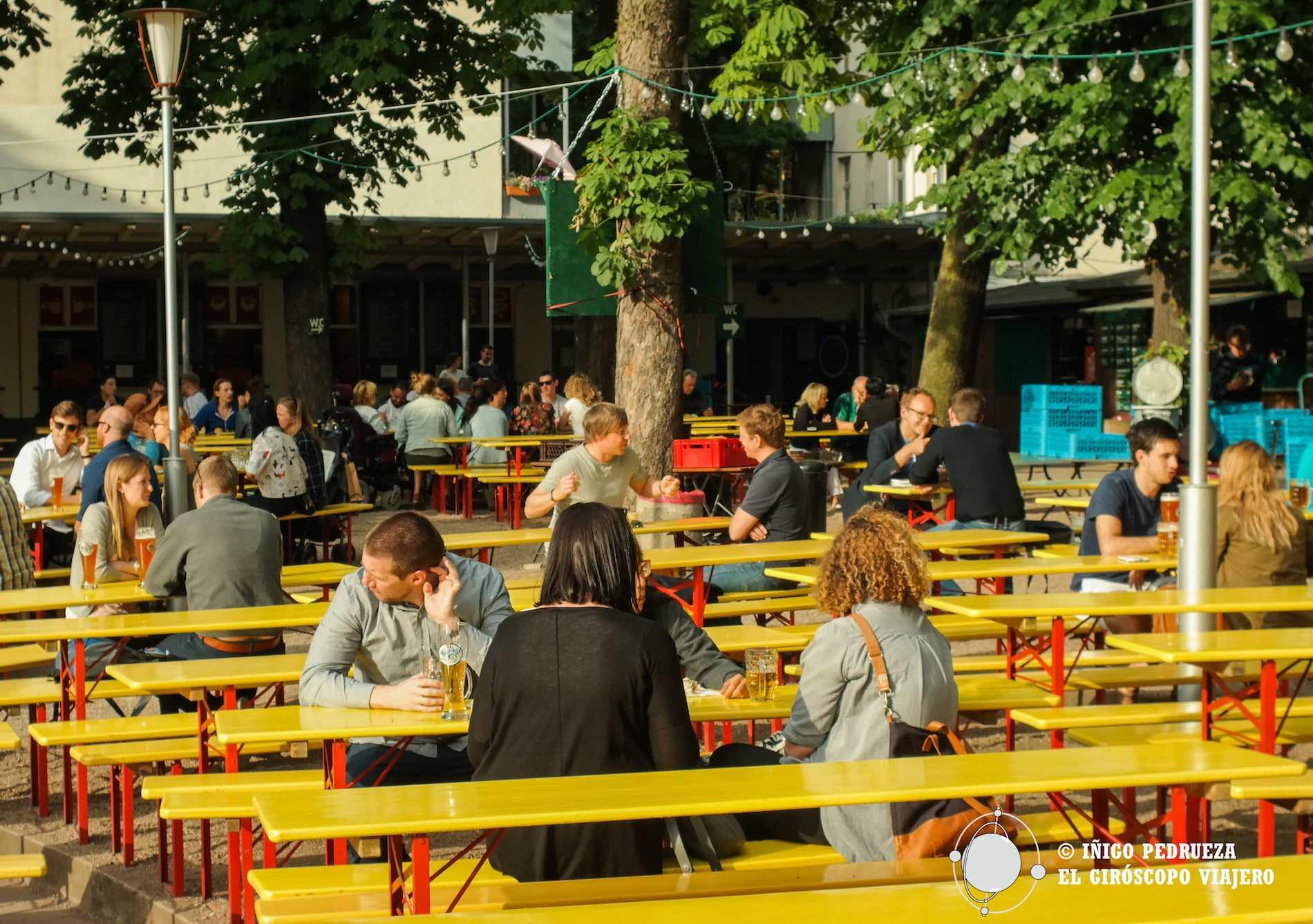 Biergarten Prater, una de las cerveceras más famosas de la ciudad. ©Iñigo Pedrueza.