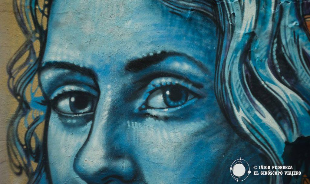 Graffiti en Has Schwarzenberg en Prezlauer. ©Iñigo Pedrueza.