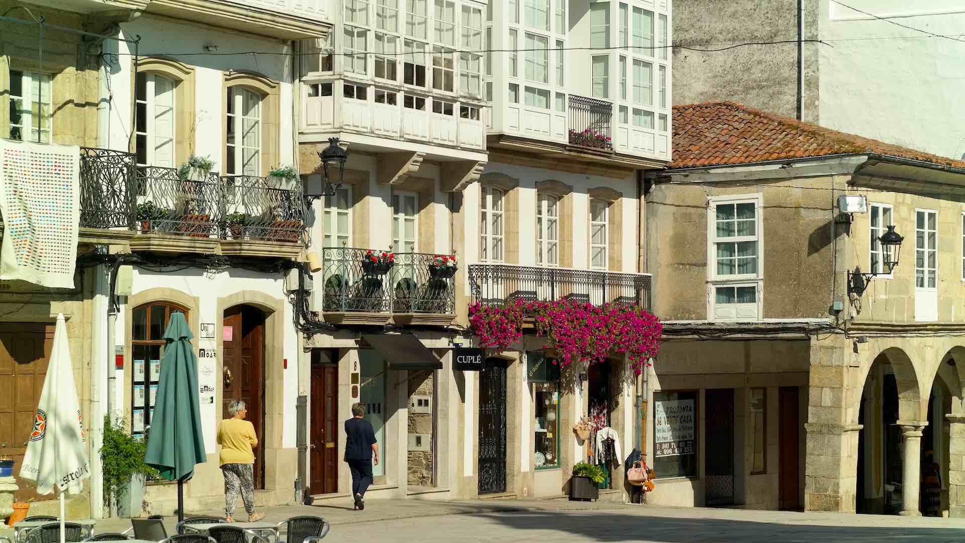 El casco antiguo de Betanzos fue declarado Conjunto Histórico-Artístico en 1970