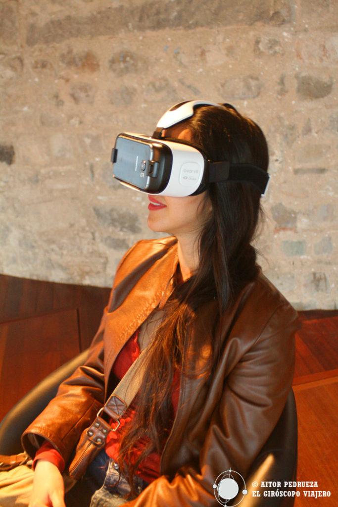 Viaje 3D por la Cripta de la Colonia Güell