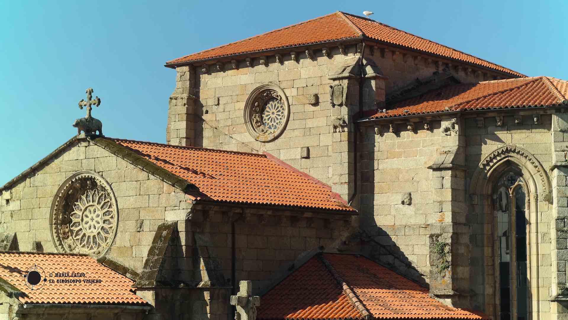 Una joya del gótico gallego, la iglesia conventual de San Francisco