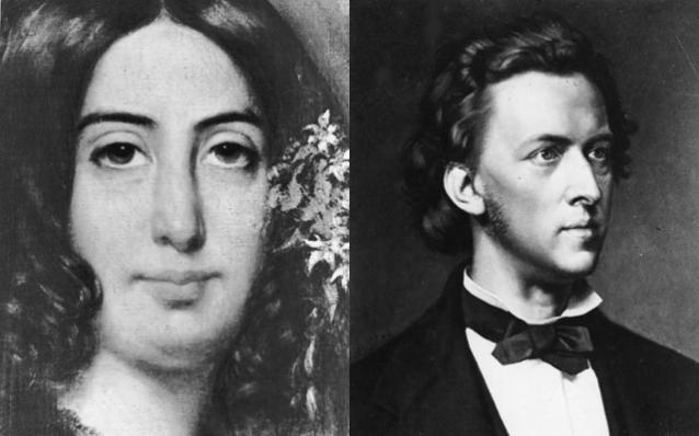 George Sand y Chopin, la extraña pareja en Valldemossa