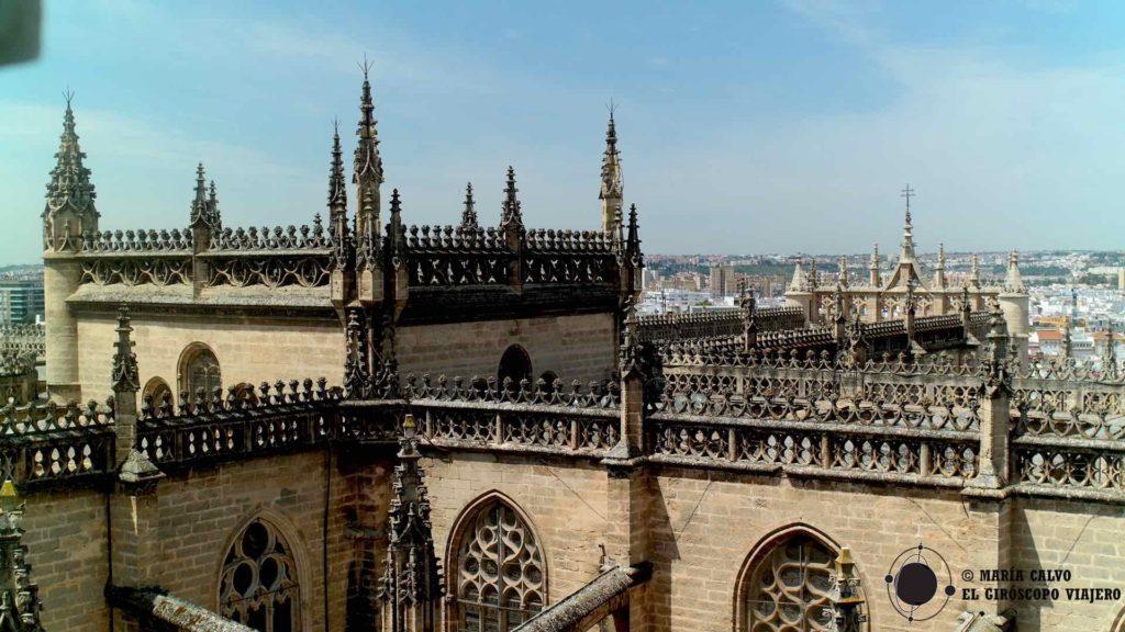La belleza del Gótico de la catedral de Sevilla