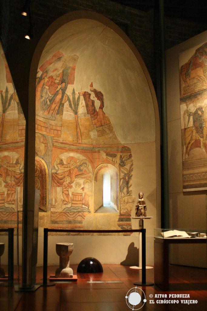 Salas del Museo Diocesano de Barcelona