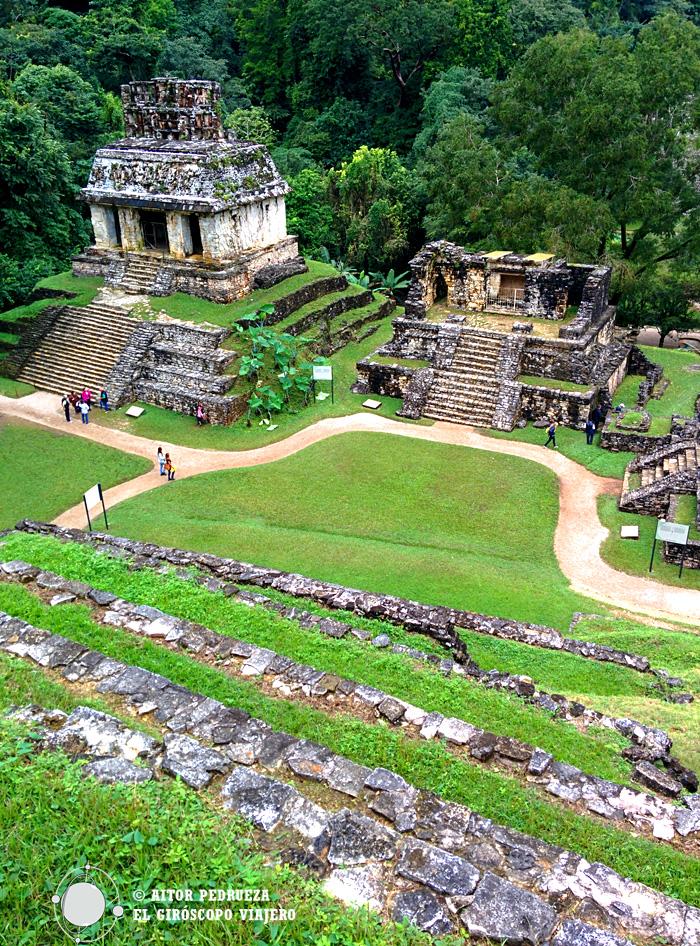 Templo del sol en Palenque