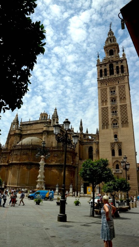 La Giralda, antiguo alminar de la mezquita