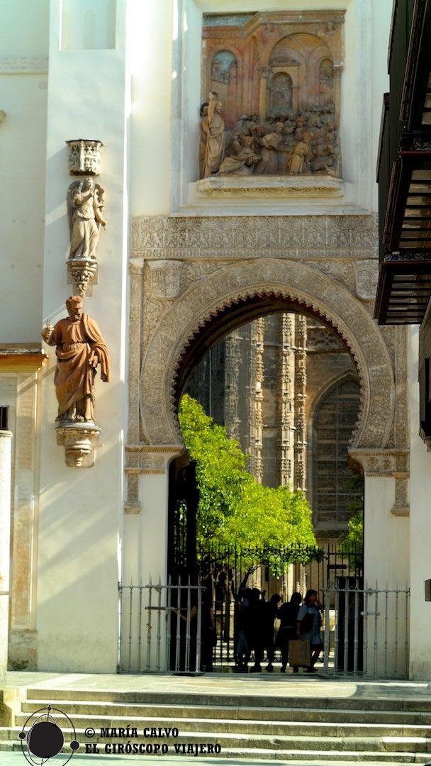 La puerta del Perdón, fusión de elementos almohades y renacentistas