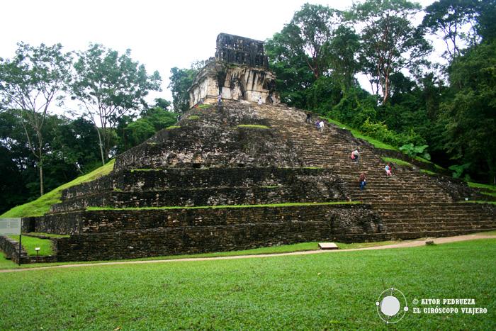Templo de la Cruz. Palenque