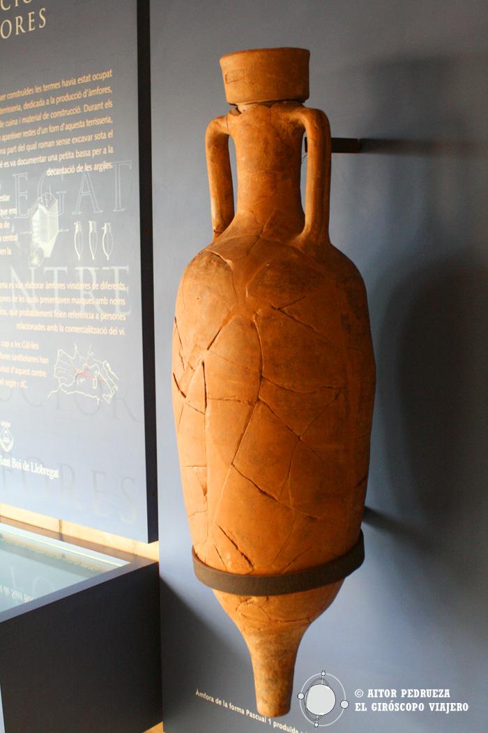 Ánfora romana de Iulius Anicetus