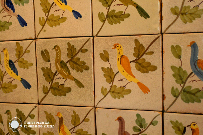 Azulejos de la colección Salvador Miquel en Can Tinturé
